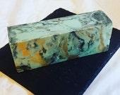 Precious Turquoise - Cold Process Soap - 4+ ounces