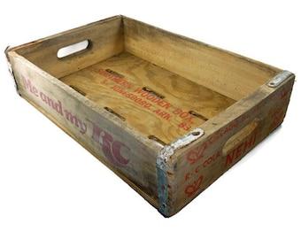Vintage Nehi Soda Crate RC Cola