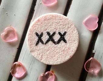 25% off Bath Bomb, valentine bath bomb, sensual, aphrodisiac blend bath bomb, romance bath fizzies, shower fizzies, gifts for her