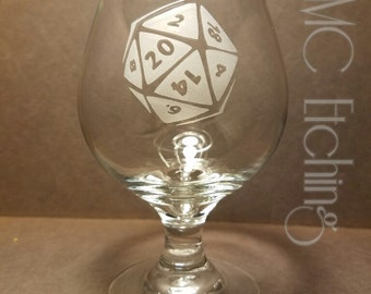 D20 Belgian Beer Glass