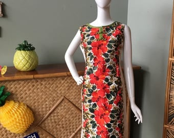 Gorgeous Elsie Krassas Waikiki Hawaiian dress