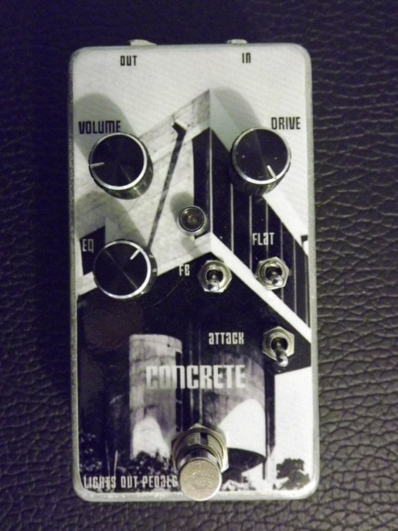 """CONCRETE """"fuzz war"""" clone by Lights Out Built to order (with additional modes)"""