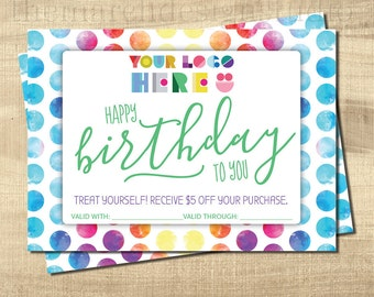 Dot Dot Birthday Card, Dot Smile Birthday Card, Instant Download, Dot Smile Birthday, Dot Dot Marketing, Dot Smile Marketing