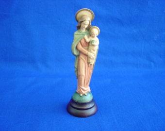 Madonna and Child Small Statue Toriart ANRI Mass