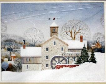 "Needle Treasure Counted Cross Stitch Kit ""Yankee Ingenuity"" adapted by Wilbur Meese NEW"