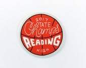 Reading High 2017 State Champs Sticker PRE-ORDER