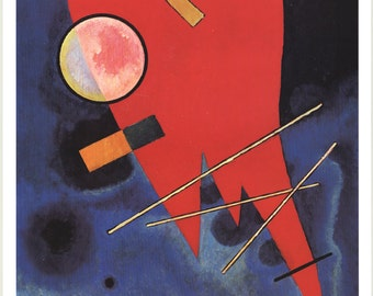 Wassily Kandinsky-Rouge-1996 Poster