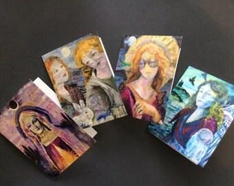 Divine Feminine Note Cards