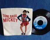 "RARE, Vintage, Toni Basil - ""Mickey / Thief On The Loose"", 7"" 45 RPM Vinyl Single, Original Press, Word Of Mouth"