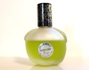Vintage 1970s Green Apple by Max Factor 1 oz Pure Parfum Splash DISCONTINUED PERFUME