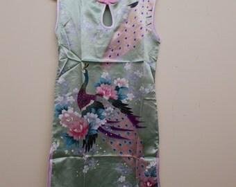 BEAUTIFUL Girls SILK Dress-Size 8