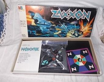 Zaxxon Board Game Sega Enterprises 1982, Vintage Board Game, Board Games, Space Game, Toys, Vintage Toys, :)S*