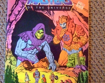 Masters of the Universe (He-Man), Coloring and Activity Book 1984