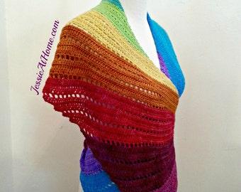 Skylark in Wonderland - Crochet Scarf PATTERN PDF ONLY