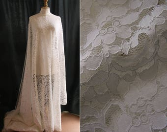 White lace, for wedding dress