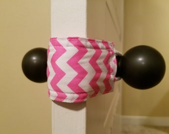 Latchy Catchy in Pink Chevron (Patented)