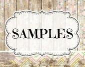 SAMPLES- Spritzers of Fragrances Or FRAGRANCE STICKS (colognes/fragrances) and little Jars for other products