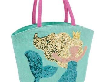 Mermaid beach bags kids