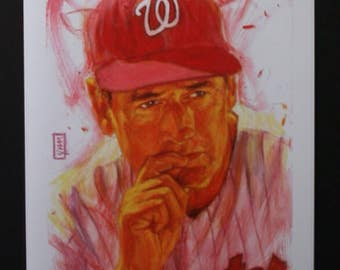 Ted Williams Print