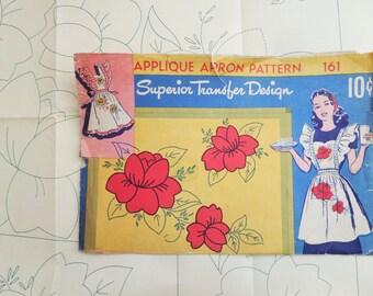 Superior Transfer Design Applique Apron Pattern Transfer 161