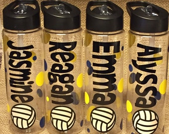 12 Personalized Water Bottle-ANY SPORT