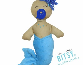 New! Ben The Merman (made To Order Ships 1-2 Weeks)