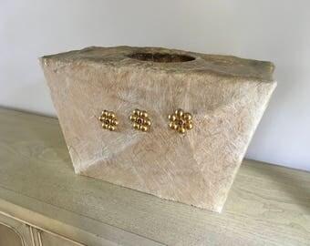 Moss lamp shade fiberglass original