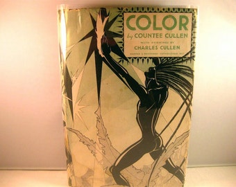 Color, Countee Cullen with Drawings by Charles Cullen, Harper & Brothers Early Print