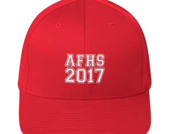 Customized Embroidered Graduation Hat for the Class of 2017- Structured Twill