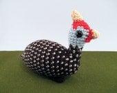 Guinea Fowl Crochet