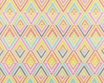 Pastel  Fabric-Geometric Fabric -Fabric by the Yard-Quilt Fabric-Apparel Fabric-Home Decor Fabric-Fat Quarter-Craft Fabric-Fat Quarters