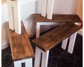 Gorgeous Reclaimed Wood Bench Rustic Country