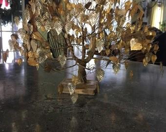 Mid Century Modern Metal Dream Tree Sculpture JL Tramel Registered Original Dream Tree