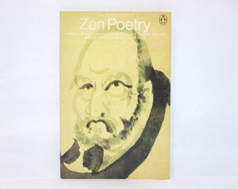 Penguin Book of Zen Poetry Vintage UK Penguin Paperback Book ~ Chinese and Japanese Poems * Haiku