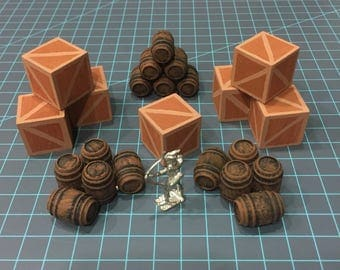 Crate and Barrel Miniature set