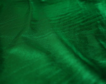 "Green French Lame Fabric 58""/60"" Wide 15 Yards Wholesale"