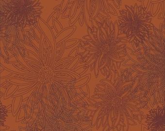 Floral Elements by Art Gallery, FE-503 Russett Orange