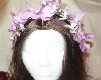 FINAL SALE - Purple Floral Headband