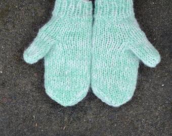 Icelandic Wool Mittens - Handmade with 100% Pure Icelandic Wool