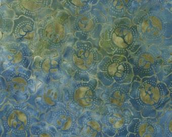 """TONGA-B4437 Batik """"Lake"""" for Timeless Treasures"""