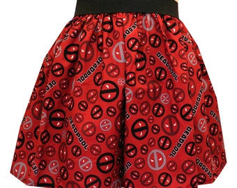 Deadpool Comic Full Skirt -20% OFF