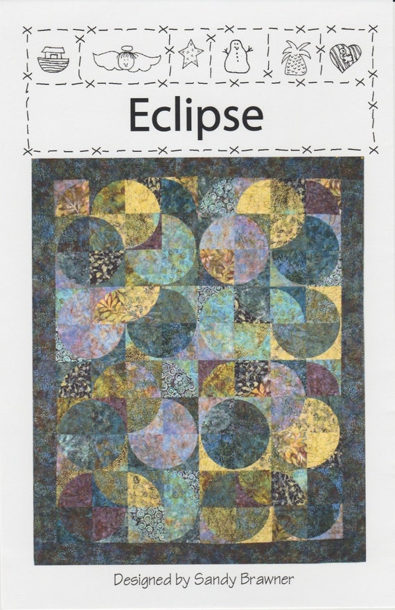 New Country Mini >> Eclipse Quilt Pattern Quilt Country DIY Quilting Great with