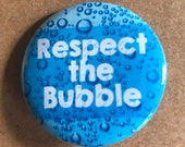 Bubble Pinback Button, Introvert Magnet, Respect Pin, Keychain, Backpack Pins, Accessories, Magnets, Funny Pins, Humor, Personal Space, Boho