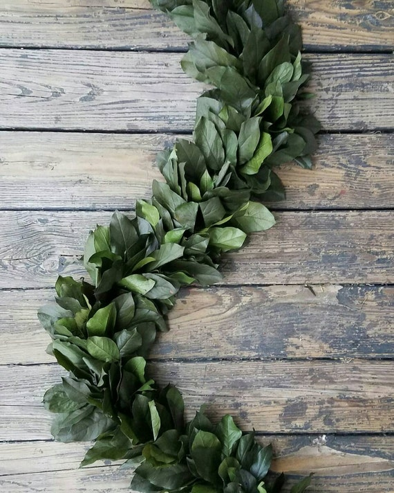Garland, Preserved Garland, Salal Garland, Christmas Garland, Wedding Garland