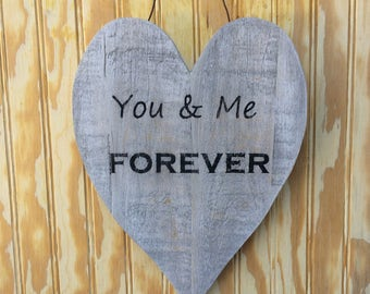 You & Me Forever Heart