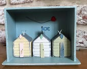 Beach huts in a drawer