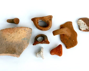 Ancient Roman amphora pieces