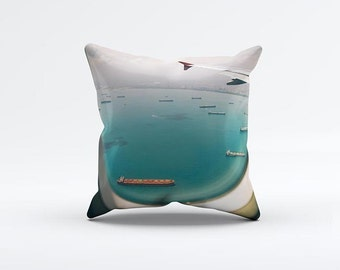 Sky View Pillow Cover 15 x 15 inch, Ocean cushion cover, Decorative Pillow Cover, Home decor