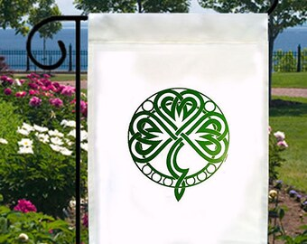 Irish Celtic Knot New Small Garden Flag Decor Events Gifts Parties St Patricks