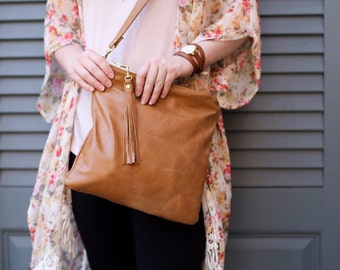 Leather Crossbody, Leather Crossbody Bag, Leather Purse, Brown Leather Crossbody, Crossbody, Crossbody bag, Leather Handbag, Vegan Crossbody